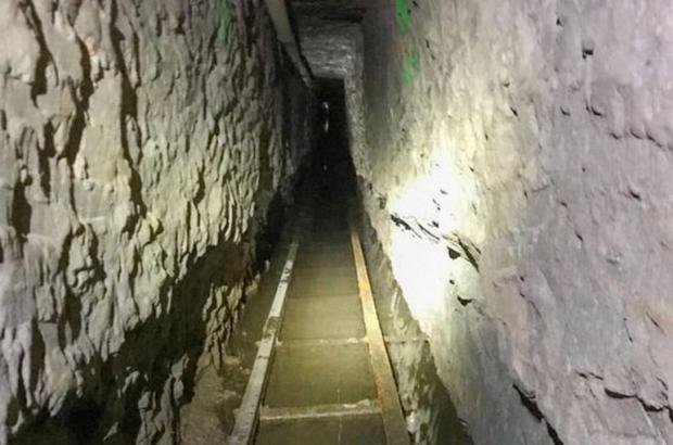 Túnel com 1.330 metros de extensão foi descoberto na fronteira dos EUA com México Foto: Reuters
