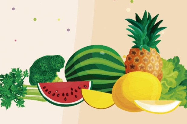 Mais alimentos naturais, menos retenção de líquido